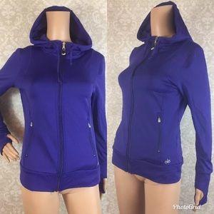 Alo purple hoodie
